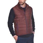 Dur ανδρικό καπιτονέ αμάνικο jacket - 50210312 - Μπορντό