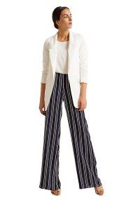 Γυναικεία παντελόνα ριγέ Billy Sabbado - 0939430165 - Μπλε Σκούρο