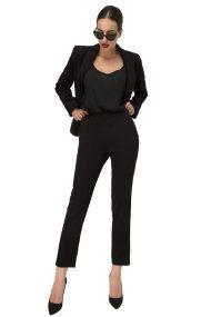 Billy Sabbado γυναικείο μονόχρωμο παντελόνι - 0137487547 - Μαύρο