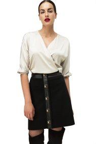 Billy Sabbado γυναικεία μίνι φούστα με μεταλλικές λεπτομέρειες - 139197730 - Μαύρο
