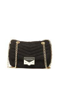 Valentino γυναικείο mini bag με αλυσίδα - 03GVBS1R303V/RI - Μαύρο