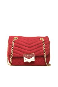 Valentino γυναικείο mini bag με αλυσίδα - 03GVBS1R303V/RI - Κόκκινο