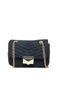 Valentino γυναικείο mini bag με αλυσίδα - 03GVBS1R303V/RI - Μπλε Σκούρο