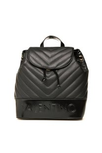 Valentino γυναικείο backpack με ανάγλυφο λογότυπο - 03GVBS0WO06/CHO - Μαύρο