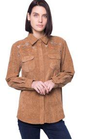 Γυναικείο πουκάμισο Paul Cristophe - 732386 - Ταμπά