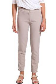 Γυναικείο παντελόνι κρεπ Paul Christophe - 821261 - Μπεζ