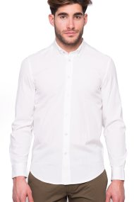 Ανδρικό πουκάμισο Diesel - 00S86M 0DARK - Λευκό