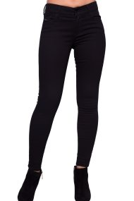 Γυναικείο παντελόνι Diesel - 00SXJM 0860S - Μαύρο