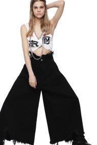 Diesel γυναικείο jean παντελόνι De-Pignot - 00SIUB 0GARZ - Μαύρο