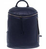 Lancaster γυναικείο backpack με εξωτερικές θήκες - 578-80 - Μπλε Σκούρο