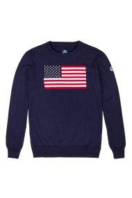 Ανδρικό πουλόβερ USA North Sails - 9316M - Μπλε Σκούρο
