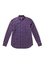 North Sails ανδρικό πουκάμισο Shirt b.d longsleeve regular - 663429 - Μπλε Σκούρο