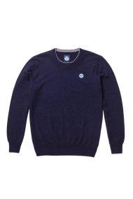 North Sails ανδρικό πλεκτό Round neck sweater - 699342 - Μπλε Σκούρο
