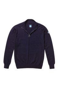 North Sails ανδρικό πλεκτό Ηalf zip sweater - 699344 - Μπλε Σκούρο