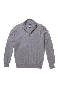 North Sails ανδρικό πλεκτό Ηalf zip sweater - 699344 - Γκρι