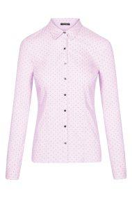 Οrsay γυναικείο πουκάμισο με all over print καρδιές - 690072-352000 - Ροζ