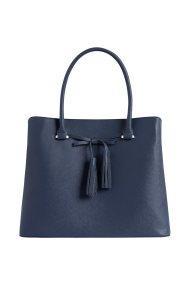 Orsay γυναικεία τσάντα χειρός μονόχρωμη - 902422-526000 - Μπλε Σκούρο