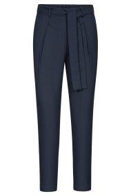 Orsay γυναικείο παντελόνι pencil με ζώνη - 352217-526000 - Μπλε Σκούρο