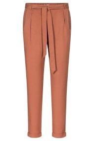 Orsay γυναικείο παντελόνι ψηλόμεσο με ζώνη - 324233-772000 - Κεραμιδί