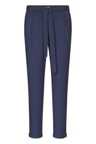 Orsay γυναικείο παντελόνι ψηλόμεσο με ζώνη - 324233-519000 - Μπλε Σκούρο