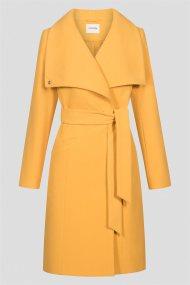 Orsay γυναικείο παλτό με μεγάλο γιακά - 830199-135000 - Κίτρινο