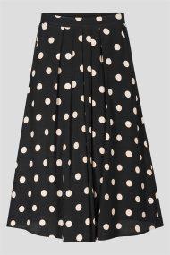 Orsay γυναικεία midi φούστα πουά - 724230-660000 - Μαύρο