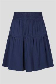 Orsay γυναικεία mini φούστα με βολάν - 724251-517000 - Μπλε Σκούρο