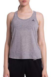 Γυναικεία αθλητική αμάνικη μπλούζα Climalite Prime Tank Adidas - CF4425 - Γκρι