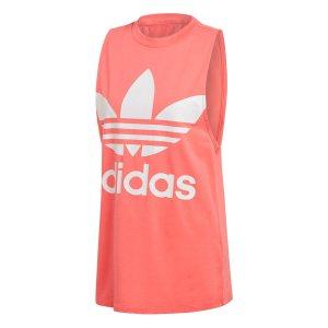 Adidas γυναικεία αθλητική αμάνικη μπλούζα Trefoil - DH3170 - Κοραλί