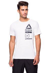 Ανδρική μπλούζα Reebok - CE6489 - Λευκό