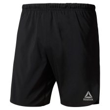 Reebok ανδρικό σορτς Running 18 cms Woven Shorts - CY4683 - Μαύρο