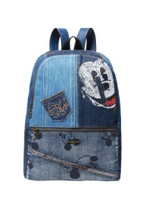 dfa99f9212 Desigual γυναικείο backpack Εxotic Mickey Milan - 18WAXD06 - Μπλε