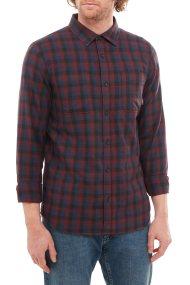 Vans ανδρικό πουκάμισο Alameda II καρό - VN0A36HL9NZ1 - Μπορντό