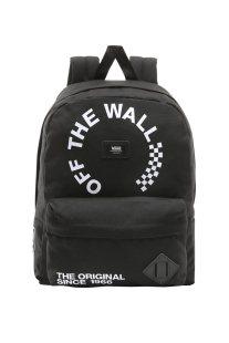 0319bfadf3 Vans ανδρικό backpack Old Skool με brand logo print - VN000ONITDV1 - Μαύρο