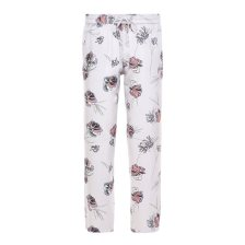 Vans Γυναικείο παντελόνι φλοράλ Avalon - VN0A3INQUUJ1 - Λευκό