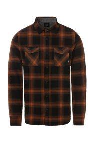 Vans ανδρικό καρό πουκάμισο Monterey III - VN0A3HL3TN41 - Κεραμιδί