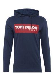 Tom Tailor ανδρικό φούτερ με κουκούλα Tom Tailor SportsWear - 1005184 - Μπλε