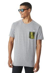 Ανδρικό T-shirt 50 - Aero Pocket Oakley - 456857A - Γκρι