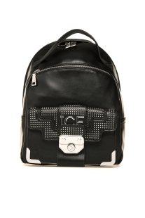 ICE γυναικείο backpack με τρούκς - 96F7266/6943 - Μαύρο