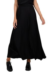 Molly Bracken γυναικεία μάξι φούστα πλισέ - W18MB-WT06 - Μαύρο