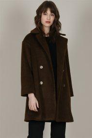 Molly Bracken γυναικείo midi oversized παλτό - W19MB-P1351