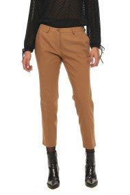 Bella P γυναικείο παντελόνι μονόχρωμο σε ίσια γραμμή - 21.182.Β03.104 - Καμηλό