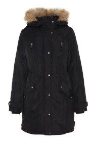 VERO MODA γυναικείο μπουφάν με κουκούλα - 10198767 - Μαύρο