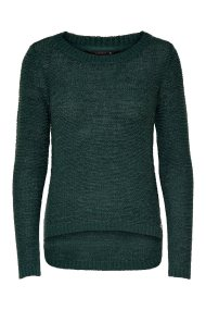 ΟNLY γυναικείο πλεκτό με στρογγυλή λαιμόκοψη Solid knitted pullover - 15113356 - Κυπαρισσί