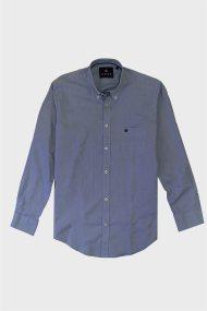 DORS ανδρικό βαμβακερό πουκάμισο Oxford - 1028025.C02 - Μπλε Σκούρο