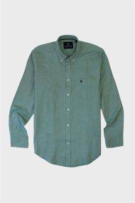 DORS ανδρικό βαμβακερό πουκάμισο Oxford - 1028025.C05 - Πράσινο