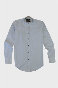 DORS ανδρικό πουκάμισο με μαο γιακά - 1028040.C04 - Γαλάζιο