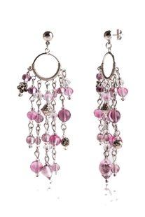 Σκουλαρίκια Brio Purple - OR148A05