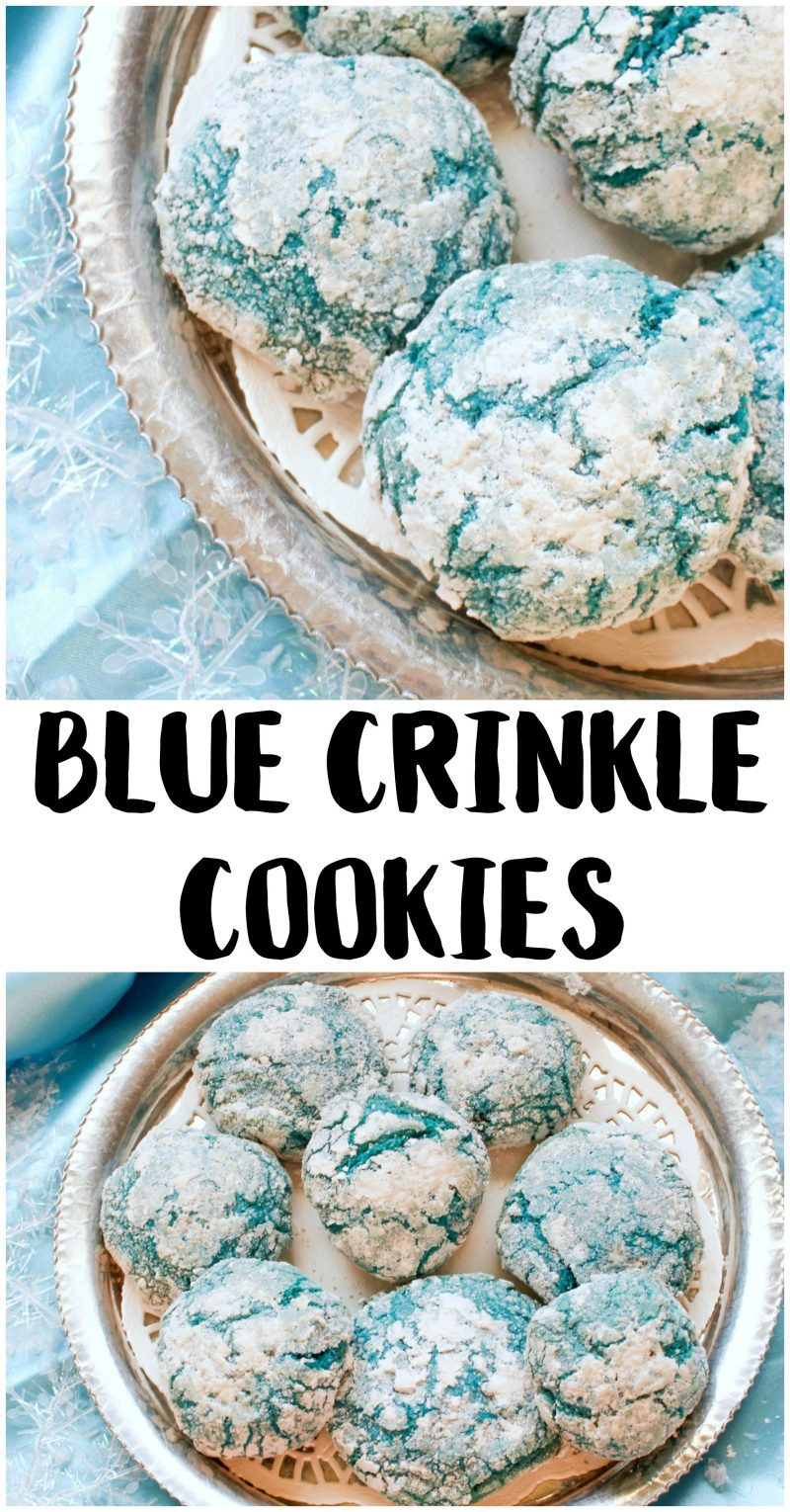 kitchen wire rack brookhaven cabinets holiday cookies recipe: blue crinkle cookies! - {not quite ...