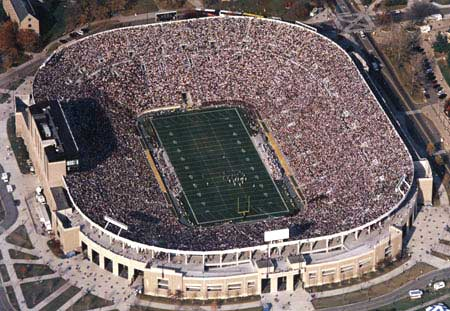 All the nation\'s living donors -- we wouldn\'t fit in Notre Dame stadium!